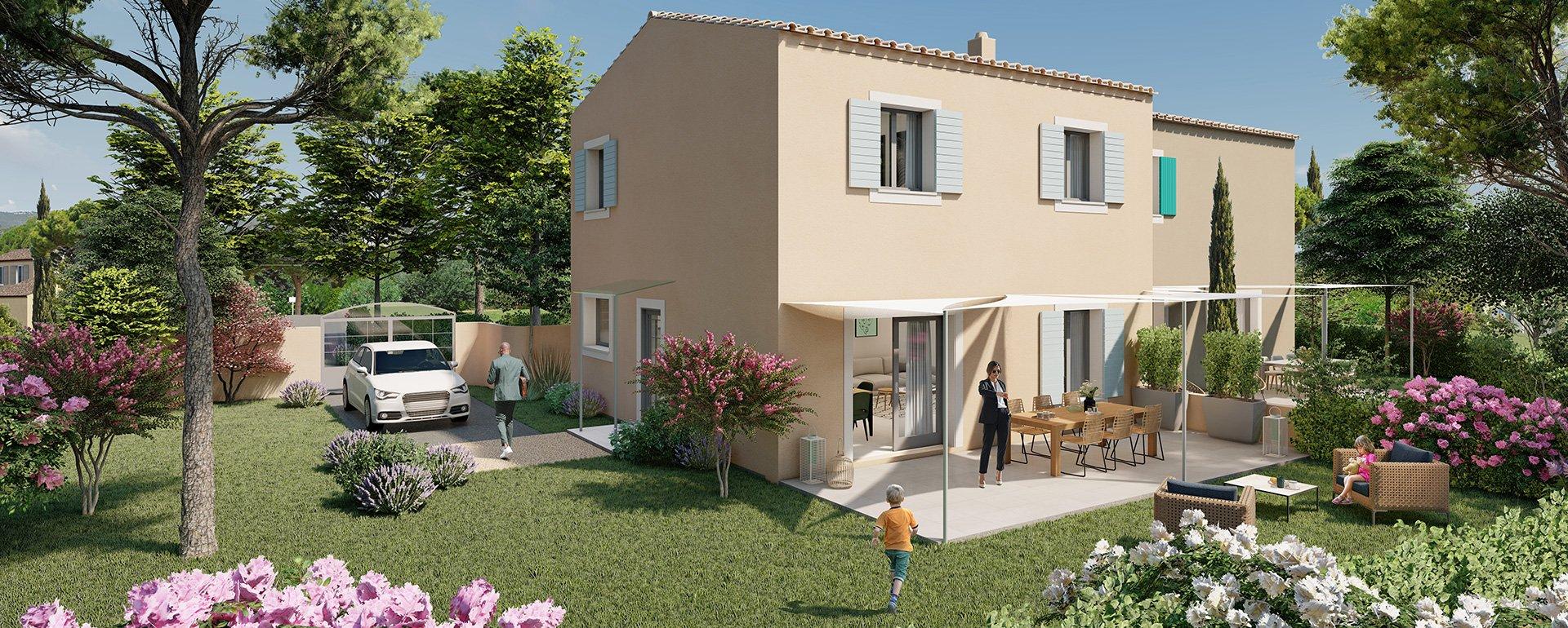 Lancement du programme «Lou Cade», 2 villas à Carcès (Var)